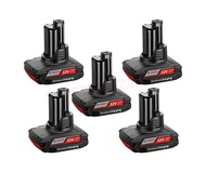 Bosch 5 x GBA 12V 2.5Ah W Wireless charging 0602494026 Professional
